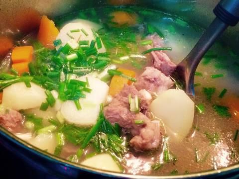 Canh xương khoai tây recipe step 4 photo