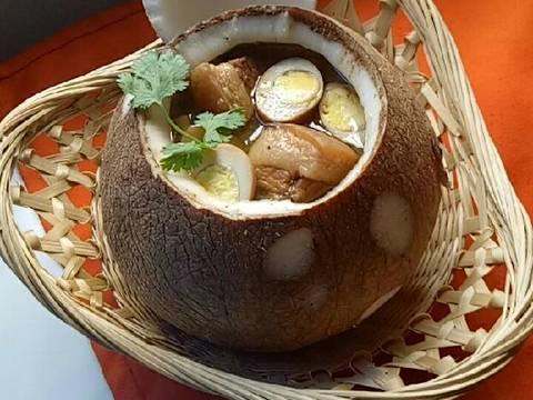 Thịt kho nước dừa recipe step 7 photo