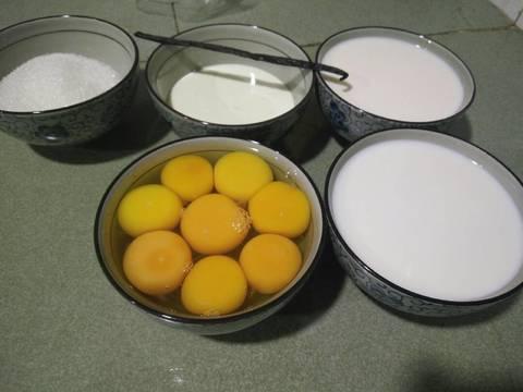 Flan recipe step 1 photo