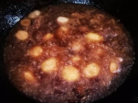 Khoai tây bi hồng xíu recipe step 5 photo