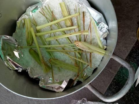 Gà hấp muối recipe step 6 photo