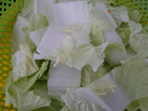 Canh cải thảo thịt băm recipe step 2 photo