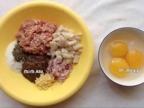 MẮM chưng trứng Nam bộ bước làm 2 hình