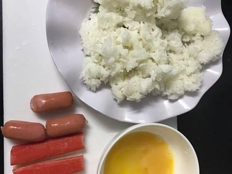 Cơm chiên thập cẩm recipe step 1 photo