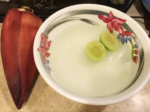 Gỏi bắp chuối tai heo ! recipe step 1 photo