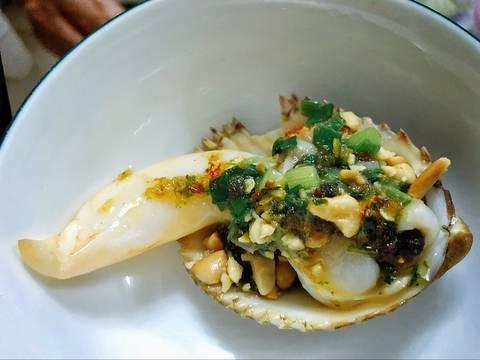 Sò dương nướng mỡ hành recipe step 7 photo