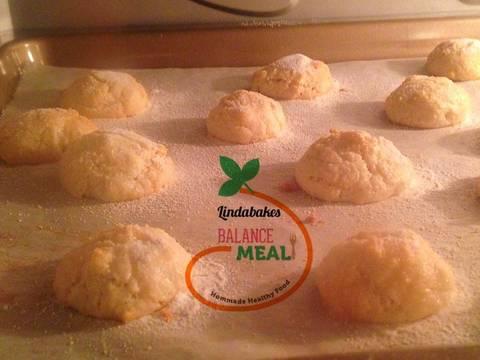 Amaretti - bánh hạnh nhân kiểu Ý recipe step 2 photo