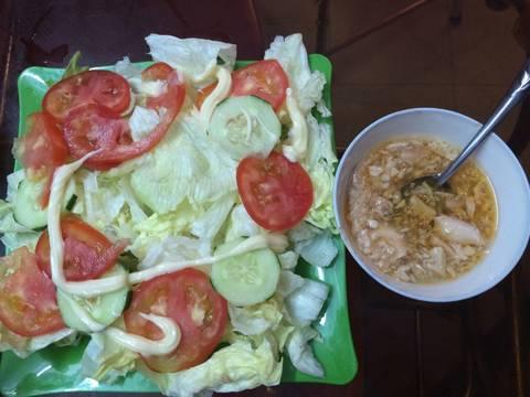 Salad cá ngừ recipe step 5 photo