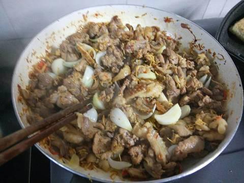 NHÍM XÀO LĂN recipe step 6 photo