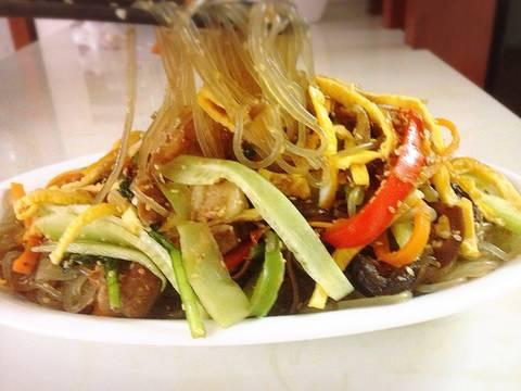 Miến xào Japchae Hàn Quốc recipe step 9 photo