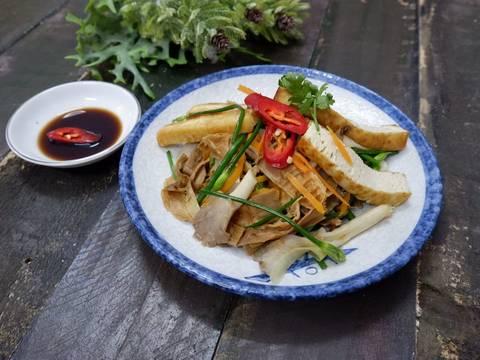 Măng Rừng Khô Xào Chay recipe step 8 photo