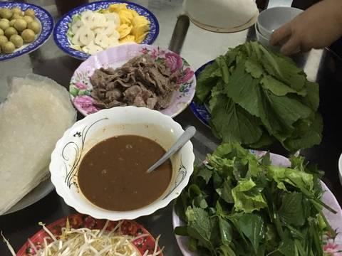 Bò xào cuốn rau sống recipe step 1 photo