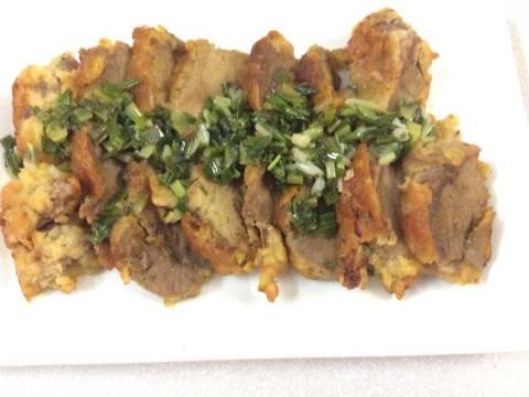Thịt nạc vai chiên ngọt, mềm cực recipe step 5 photo