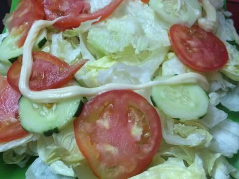 Salad cá ngừ recipe step 1 photo