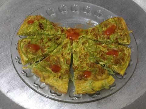 Trứng rán bí xanh recipe step 6 photo