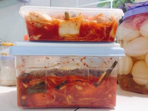 Kim chi ngày gió mùa recipe step 11 photo