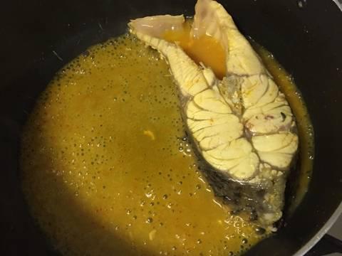 Canh chua cá nấu với xu hào recipe step 3 photo