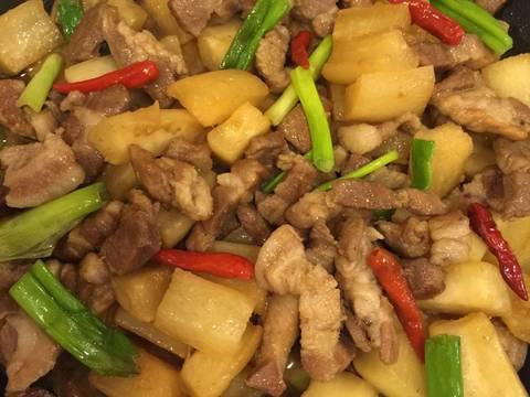 Củ cải trắng kho với thịt ! recipe step 7 photo