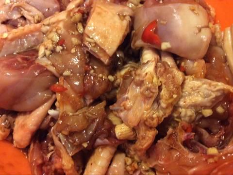 Gà kho củ cải recipe step 2 photo