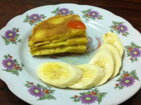 Pancake bí đỏ recipe step 5 photo