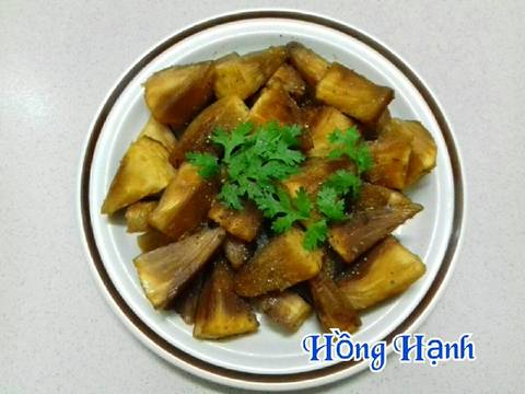 Sake Kho Chay recipe step 4 photo