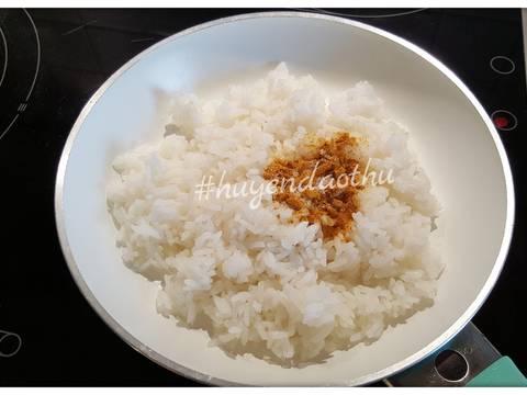 Cơm rang Cà ri với Tôm, sữa dừa #cleaneating recipe step 2 photo