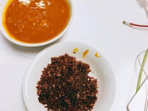 Soup bí đỏ recipe step 6 photo