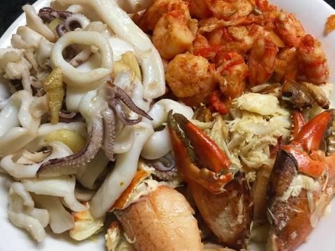 Miến xào hải sản recipe step 1 photo