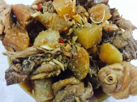 Gà kho củ cải recipe step 9 photo