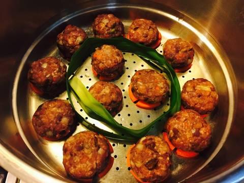 Bún thịt củ từ, khoai lang tím recipe step 11 photo