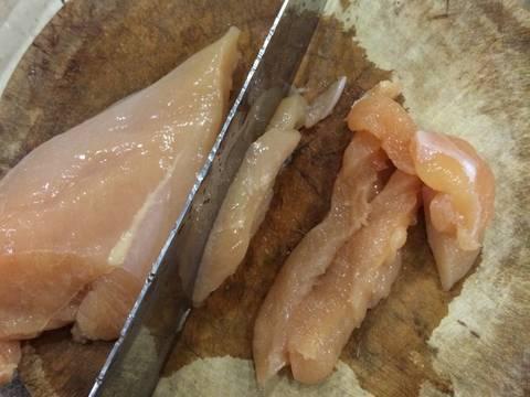 Ức gà chiên tẩm ngũ vị hương recipe step 2 photo