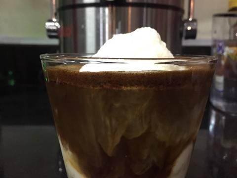 Cafe cốt dừa recipe step 3 photo