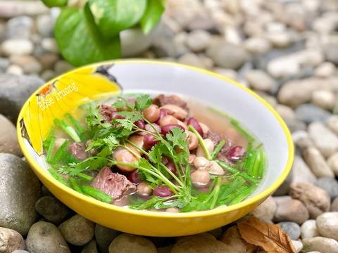 Canh Bò Hầm Đậu recipe step 3 photo