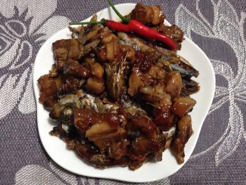 Cá Nục kho thịt ba chỉ recipe step 3 photo