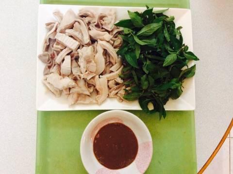 Dạ dày heo chấm mắm tôm recipe step 6 photo