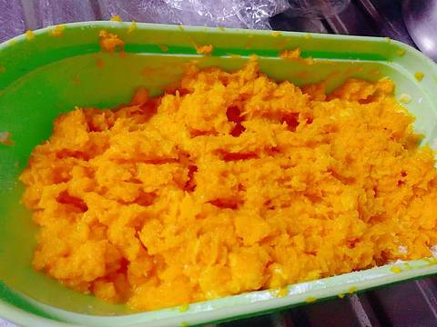 Bán rán bí đỏ 늙은호박부침개 recipe step 2 photo