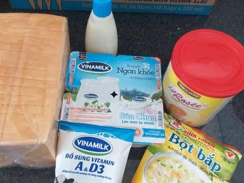 Bánh sữa chua bước làm 1 hình