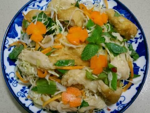 Gỏi Mì Căn Chay (Gỏi Gà Chay) recipe step 19 photo