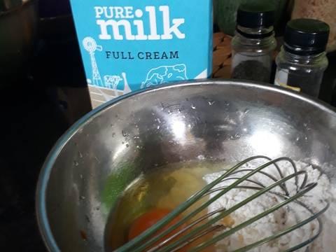 Crepe phiên bản mặn recipe step 1 photo