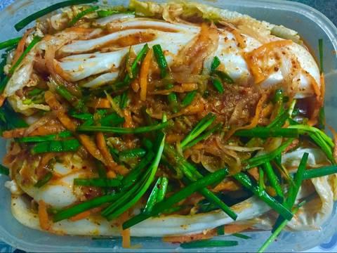 Kim chi cải thảo truyền thống recipe step 8 photo