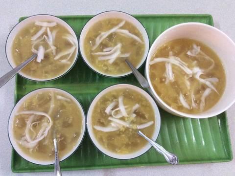 Đậu xanh , lô hội và dừa Ba Tri recipe step 3 photo