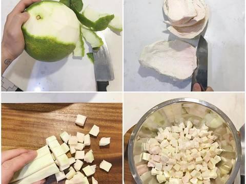 Chè bưởi thốt nốt siêu ngon dễ làm recipe step 1 photo