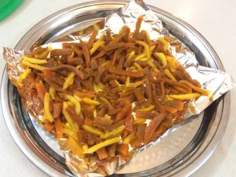 Mứt bí đỏ Hải Hậu recipe step 6 photo