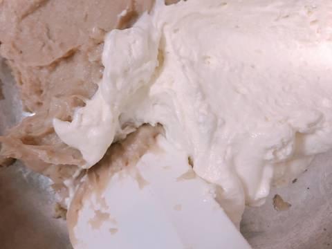 Bánh su kem vỏ giòn nhân trà sữa - Choux au craquelin bước làm 7 hình