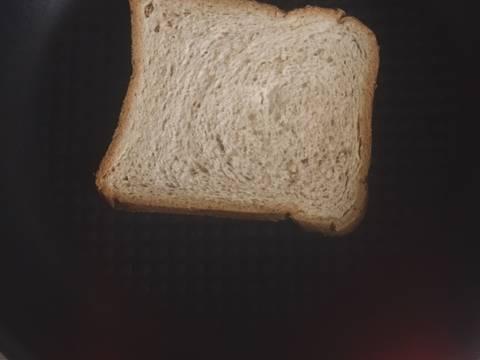 (Eat clean) Bánh mì đen sữa chua bước làm 1 hình