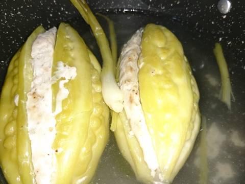 Canh khổ qua nhồi cá thác lác recipe step 2 photo