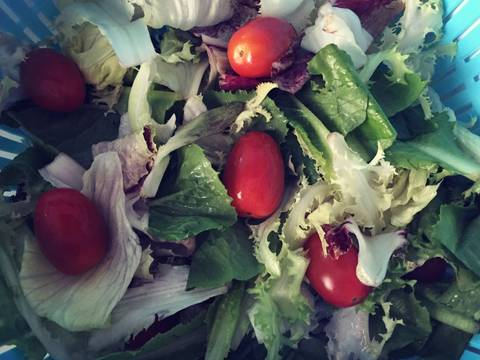 Salad hải sản recipe step 1 photo