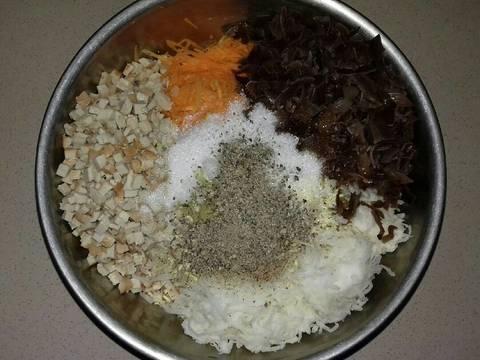 Chả Giò Chay Cuốn Với Bánh Tráng Gạo Quê Mình recipe step 1 photo