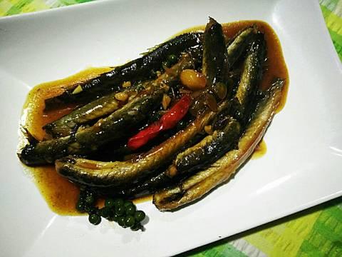 Cá Kèo Kho Tiêu Xanh recipe step 4 photo