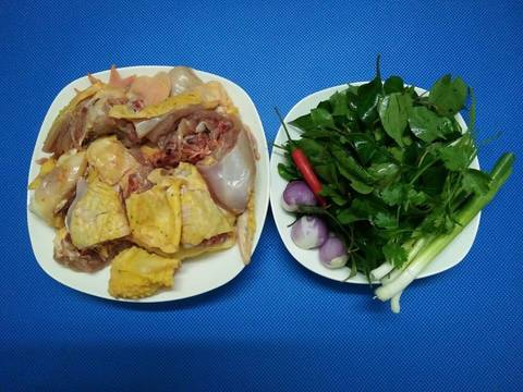 Canh gà lá giang recipe step 1 photo